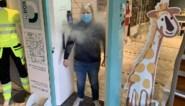 Slimme DE-Box desinfecteert en meet temperatuur van klanten