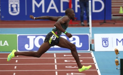 Opnieuw sneuvelt 'stokoud' wereldrecord: na 27 jaar is Colin Jackson wereldrecord op 60m horden kwijt