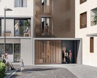 Marollenwijk krijgt hoogste houtskeletbouw van Brussels gewest