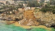Tweehonderd doodskisten vallen in zee door aardverschuiving in Italië