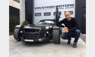 Auto's van Tom Boonen gaan van Tienen naar Viersel