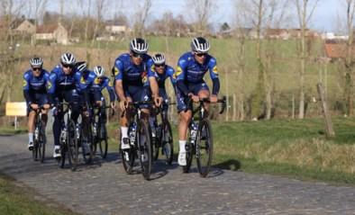 Drukke dag aan de Haaghoek: heel wat ploegen verkennen Omloop Het Nieuwsblad onder lentezonnetje