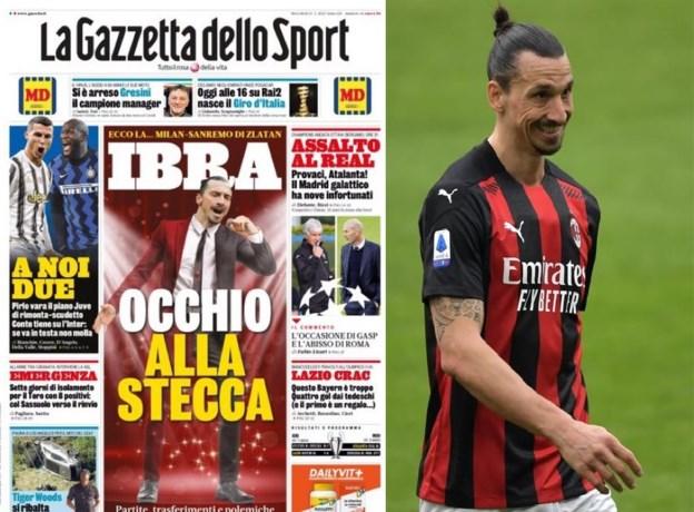 Corona of niet, Zlatan Ibrahimovic volgt zijn persoonlijke agenda: spits vliegt heen en weer (4x) naar festival vlak voor wedstrijd