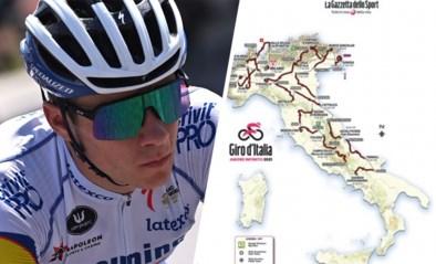 Op maat van Remco Evenepoel? 104de Giro telt twee tijdritten en zes aankomsten bergop