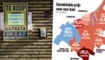 """""""Prijzen die we vroeger nooit zagen"""": een huis in Gent werd 6,5 procent duurder op één jaar"""