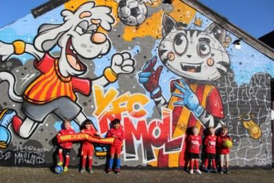 KFC Mol wil met graffitikunstwerk nieuwe spelertjes aantrekken