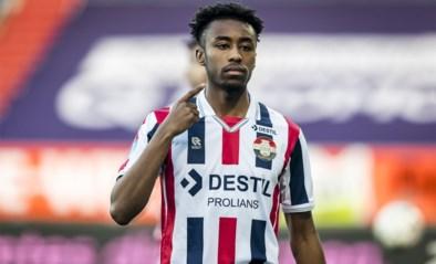 Mike Trésor scoort voor Willem II in degradatieduel Eredivisie