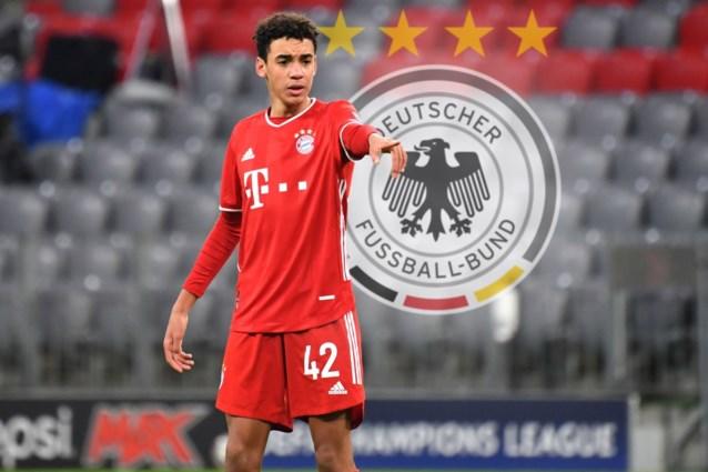 Supertalent Jamal Musiala (Bayern München) kiest voor Mannschaft (en niet voor Engeland)