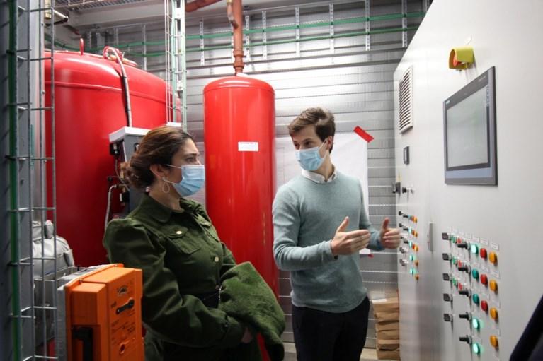 Restwarmte van Agfa warmt voortaan huizen en bedrijven op