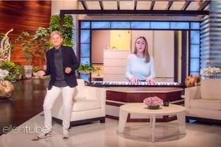 Mechelse Lise (18) twee keer op rij te gast in talkshow Ellen DeGeneres