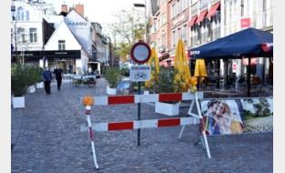 Na kakofonie van vorige zomer kleurt Markt vanaf deze lente zwart, maar nog niet helemaal