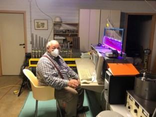 Julien (74) bouwt zelf orgel in zijn kelder, met dank aan een tuinslang en lederen jas
