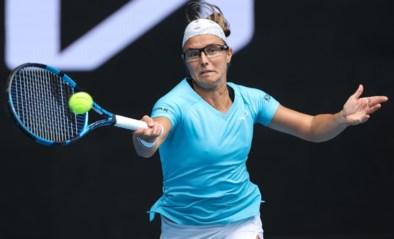 Kirsten Flipkens geeft forfait voor WTA Lyon om enkelblessure te laten genezen