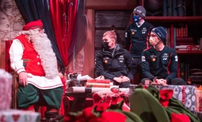 Thierry Neuville hoopt in sneeuwrally op een laat cadeau van de kerstman