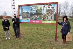 Infobord lokt pleziervaarders naar toeristisch centrum