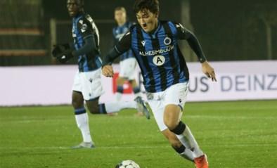 Club Brugge met 19-jarige Thomas Van den Keybus in de basis tegen Dinamo Kiev