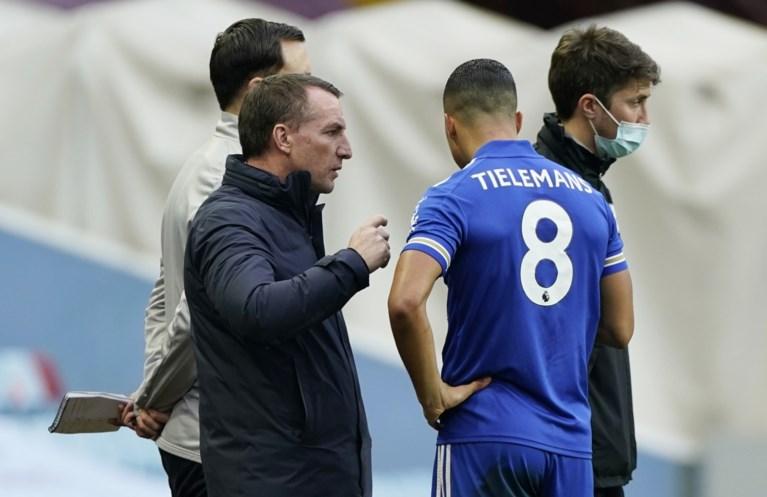 """Youri Tielemans voelt zich in zijn sas bij Leicester, dat grote ambities heeft: """"Tot het einde meegaan in elke competitie"""""""