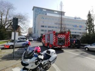 UGent campus in Ledeganckstraat ontruimd na brandgeur