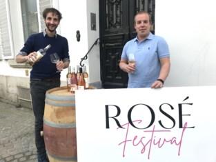 """Aalstenaars lanceren Roséfestival... in een box: """"Als de zoon van Pierre Van Damme zijn feest geeft, houden wij proeverij"""""""