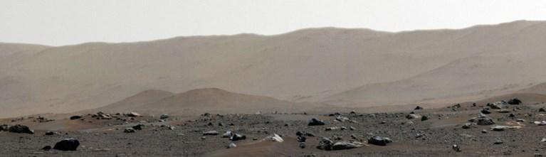 Nasa deelt eerste, prachtige panoramafoto vanop Mars