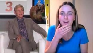 """Vlaamse Lise (18) zingt ons volkslied in talkshow Ellen DeGeneres maar vergeet de eerste strofe: """"Mijn land gaat me hiervoor haten"""""""