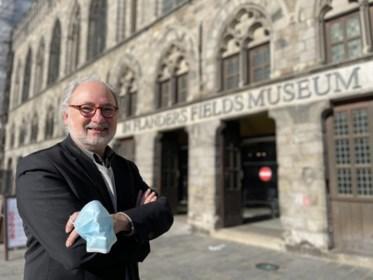 """Piet Chielens stopt na 25 jaar als coördinator van het In Flanders Fields Museum:  """"Al blijf ik straks wel meeschrijven aan digitaal verhaal"""""""