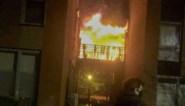 """Uitslaande terrasbrand op appartementsblok in Heers: """"Ik zag een grote vuurzee"""""""