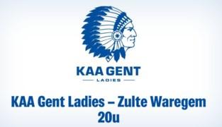 LIVE. Bekijk hier de wedstrijd van de KAA Gent Ladies tegen Zulte-Waregem