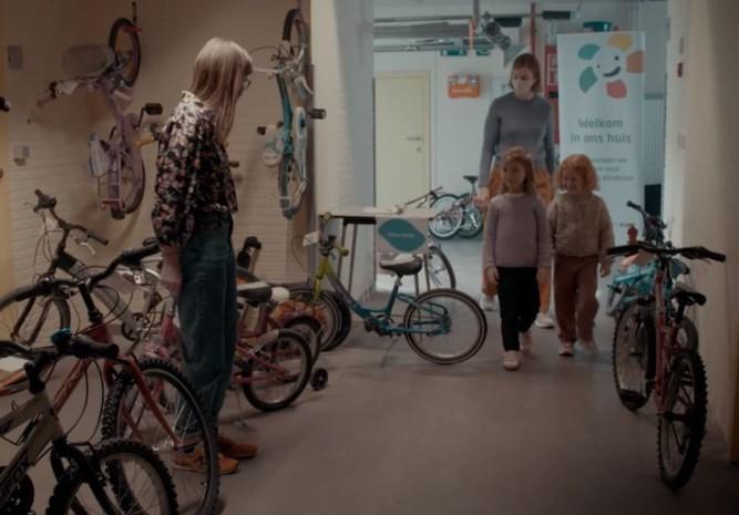Jarig Huis van het Kind opent fietsotheek