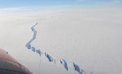 Stuk ijs van meer dan 1.000 vierkante kilometer scheurt af van Antarctica