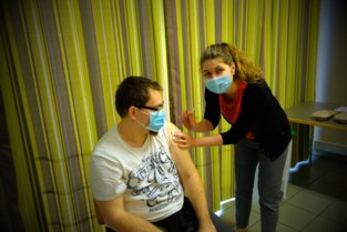 Huize De Veuster is ingeënt