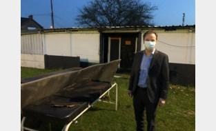 """Brand in oude kleedkamer SV Destelbergen: """"Zeer jammer voor alle vrijwilligers"""""""