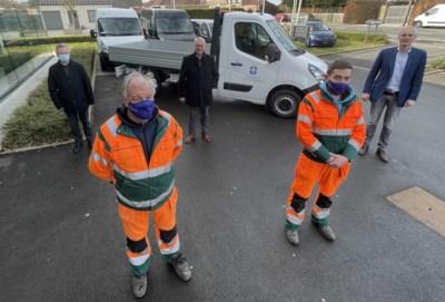 Arbeiders rijden vanaf nu met nieuwe vrachtwagen rond