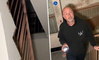 Urban explorers zien spookachtige gedaante tijdens verkenning van verlaten rusthuis met een duistere reputatie