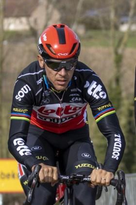 """Philippe Gilbert won vijftien jaar geleden voor het eerst de Omloop Het Nieuwsblad: """"Mijn eerste grote zege ooit, die vergeet ik niet"""""""