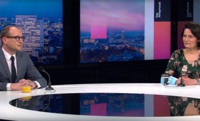 """Waarom drinkt minister Ben Weyts altijd sinaasappelsap op tv? """"Een doordachte keuze"""""""