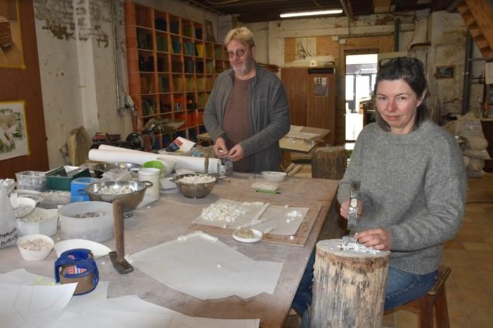 Kunstenaars maken grootste mozaïek van ons land, werk is sluitstuk van renovatie Museum voor Schone Kunsten in Antwerpen