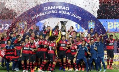 Flamengo verlengt titel in Brazilië, ook al hadden ze het bijna zelf verbrod