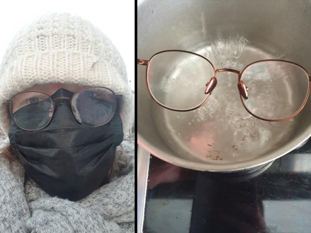 Bril plus mondmasker, geen ideale combinatie: 5 soorten anticondensmiddeltjes getest