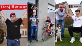 """Fans Gentse renners moeten zaterdag vanuit de zetel supporteren: """"Als hij wint, dan bouwen we een feestje met de bubbel"""""""