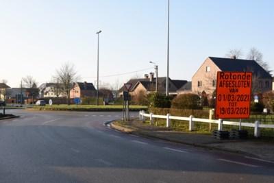 Rotonde Braamstraat bijna 3 weken afgesloten
