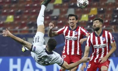 Olivier Giroud redt saaie match tegen Atlético Madrid met prachtige omhaal en laat Chelsea dromen van de kwartfinales