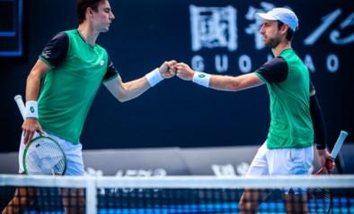 Sander Gillé en Joran Vliegen staan in finale van ATP-toernooi in Singapore