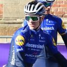 Remco Evenepoel was tevreden dat hij eerder deze week een stukje kon meerijden met zijn ploegmaats tijdens de verkenning van de Omloop.