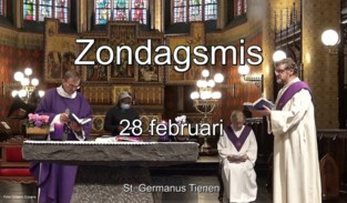 VIDEO. Zondagsmis uit de Sint-Germanuskerk