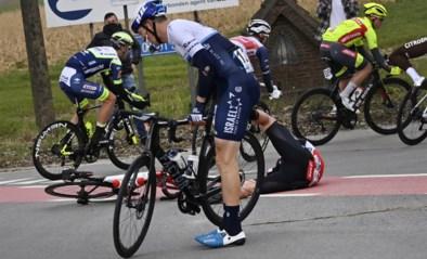 Sep Vanmarcke meteen tegen de grond in Omloop Het Nieuwsblad