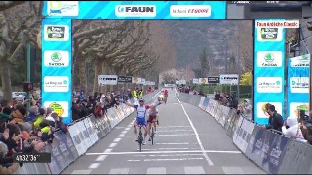 David Gaudu klopt Clément Champoussin in sprint met twee in Faun-Ardèche Classic