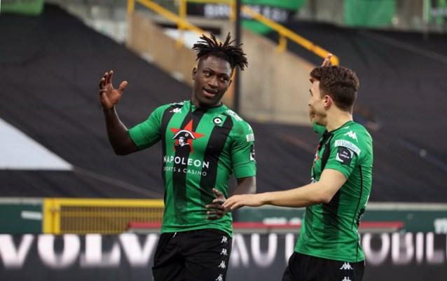 Cercle Brugge zet na goals van Lopes en Denkey Waasland-Beveren op vier punten in degradatiestrijd