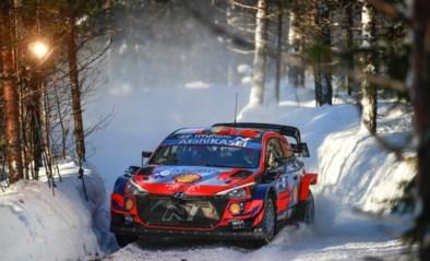 Thierry Neuville heeft uitzicht op podium in Arctic Rally