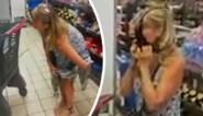 Vrouw trekt ondergoed uit in supermarkt en gebruikt het als mondmasker nadat personeel haar niet wil helpen